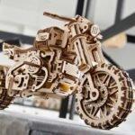 Drewnian model motocykla do składania