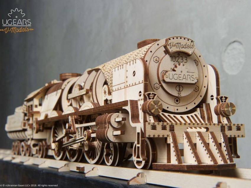 Mechaniczne lokomotywy z drewna